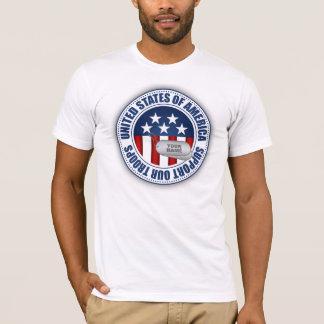 Camiseta Apoie nossas tropas