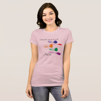 Camiseta Apoie seu artista local - t-shirt