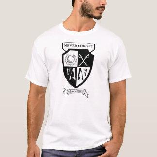 Camiseta Apoie sua biblioteca local - recorde Alexandria