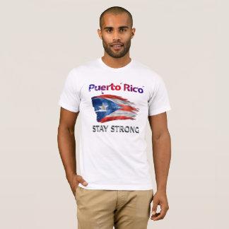 Camiseta Apoio de Puerto Rico - estada forte!