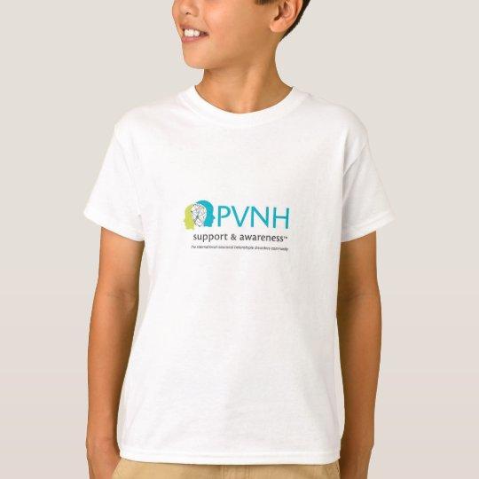 Camiseta Apoio de PVNH & T das crianças da consciência