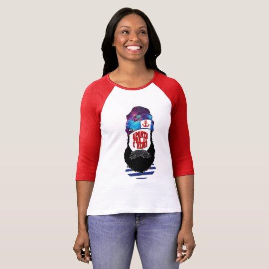 Camiseta Aponta pra fé e rema