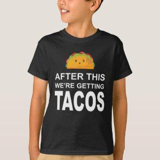 Camiseta Após isto nós estamos obtendo o t-shirt do Tacos