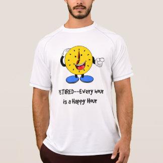 Camiseta Aposentado--Cada hora é um happy hour (o pulso de