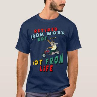 Camiseta Aposentado do trabalho