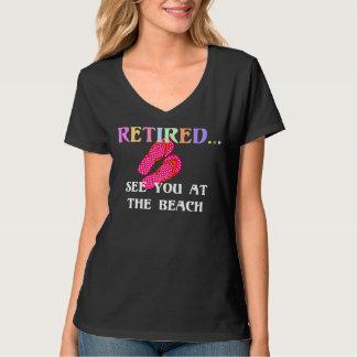 Camiseta Aposentado… veja-o na praia