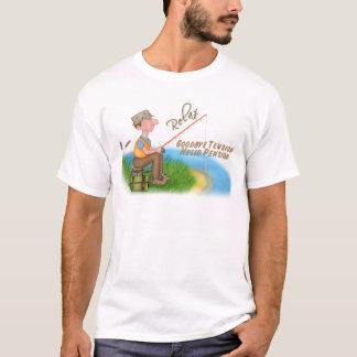 Camiseta Aposentadoria de pesca ida