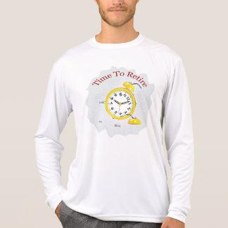Camiseta Aposentadoria: Despertador aposentado
