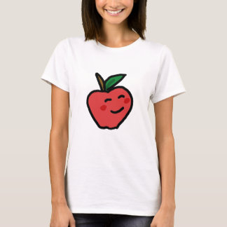 Camiseta Apple de sorriso Tee
