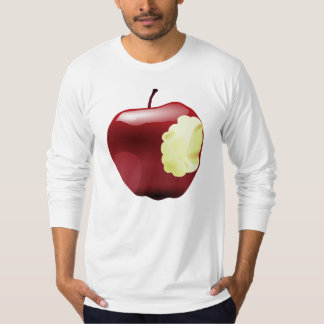Camiseta Apple mordido