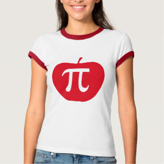 Camiseta Apple Pi, torta de Apple