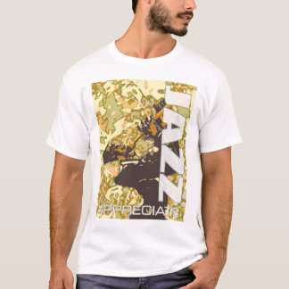 Camiseta Aprecie o jazz 2