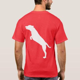 Camiseta Aprecie o momento. Edição com fome do cão