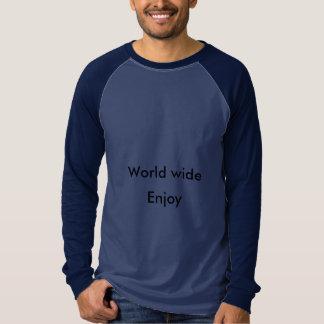 Camiseta aprecie o mundo