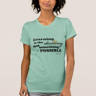 Camiseta Aprender é…