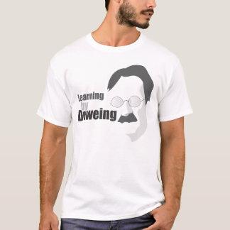 Camiseta Aprendizagem por Deweing - tshirt dos homens