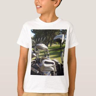 Camiseta Apronte por um dia do golfe para fora,