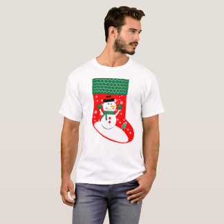 Camiseta Apronte suas meias para a versão 1 dos feriados