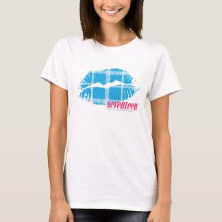 Camiseta Aqua da xadrez
