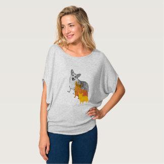Camiseta : aquacorg: Corgi do pop art
