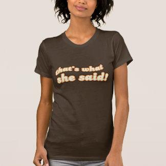 Camiseta Aquele é o que disse o t-shirt