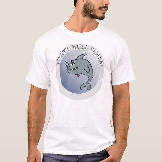 Camiseta Aquele é tubarão de Bull! (Desenhos animados)