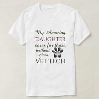 Camiseta Aqueles sem tecnologia do veterinário da filha das