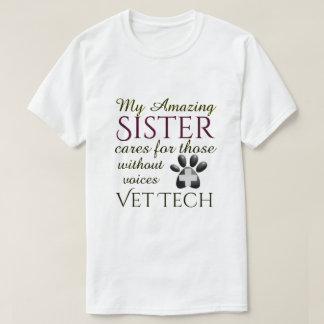Camiseta Aqueles sem tecnologia do veterinário da irmã das