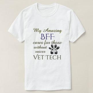 Camiseta Aqueles sem tecnologia do veterinário das vozes