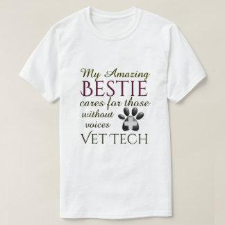 Camiseta Aqueles sem tecnologia do veterinário de Bestie