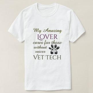 Camiseta Aqueles sem tecnologia do veterinário do amante