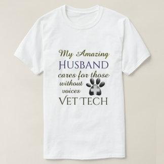 Camiseta Aqueles sem tecnologia do veterinário do marido