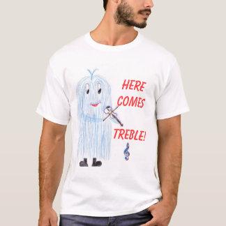 Camiseta Aqui ComesTreble!