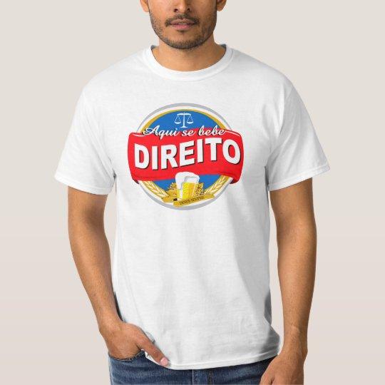 Camiseta Aqui Se Bebe Direito