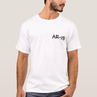 Camiseta AR-15, em caso de dúvida
