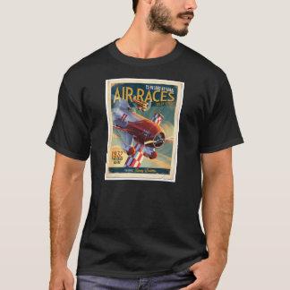 Camiseta Ar do vintage que compete o cobrir