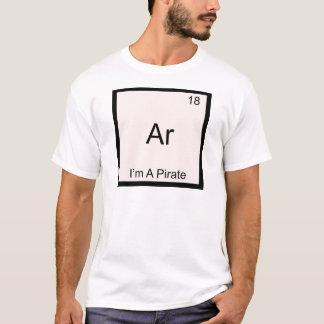 Camiseta AR - Eu sou um símbolo do elemento da química do
