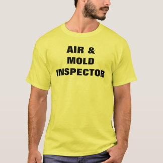 CAMISETA AR & INSPECTOR DO MOLDE