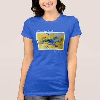Camiseta Ararinha Azul - t-shirt do Macaw de Spix