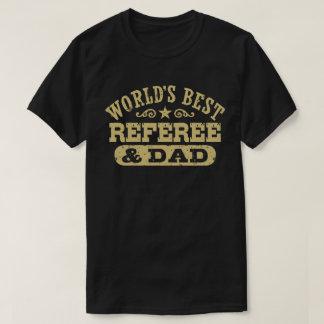 Camiseta Árbitro e o pai do mundo o melhor