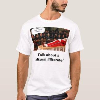 Camiseta arbusto/papa/papai noel, conversa sobre um