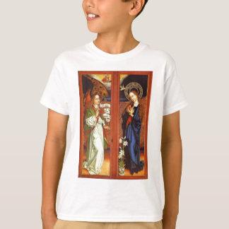 Camiseta Arcanjo Gabriel - aviso - Schongauer