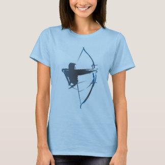 Camiseta arco azul