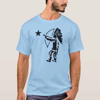 Camiseta Arco de estrela norte do indiano e pop art da seta