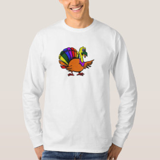 Camiseta Arco-íris alegre Turquia!