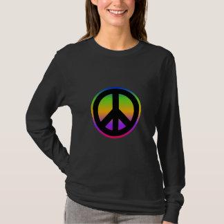 Camiseta Arco-íris brilhante