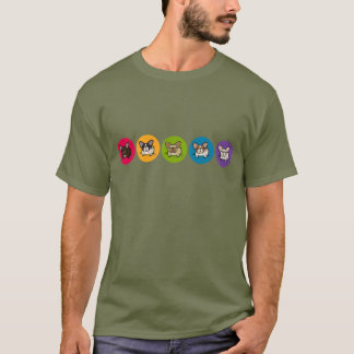 Camiseta Arco-íris de Frenchie