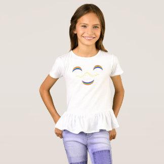 Camiseta Arco-íris de Smilie