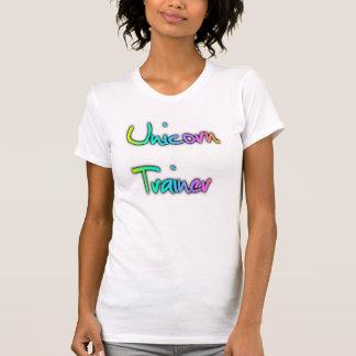 Camiseta Arco-íris do instrutor do unicórnio