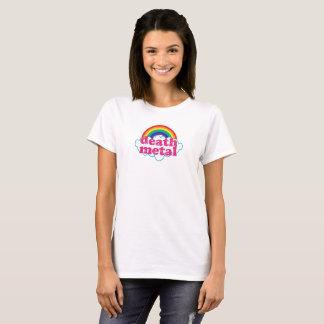 Camiseta Arco-íris do metal da morte!